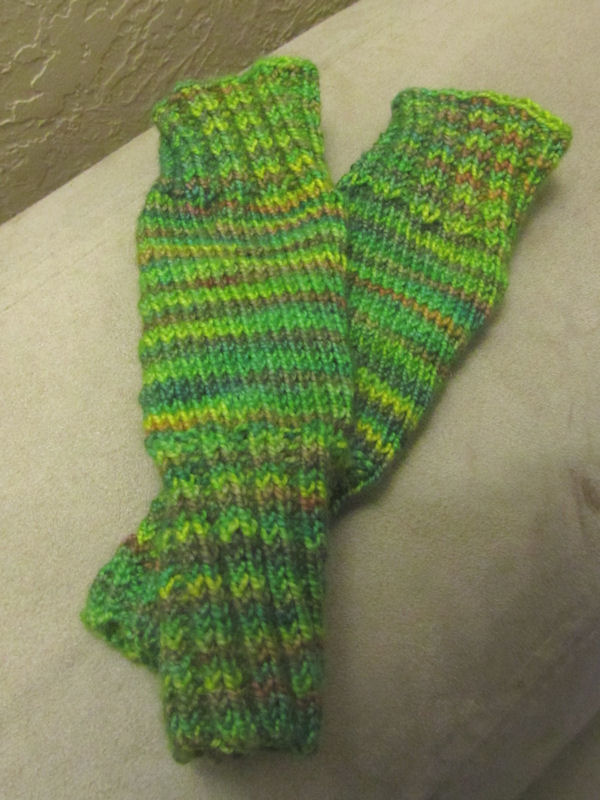 Legwarmers I made for my baby.